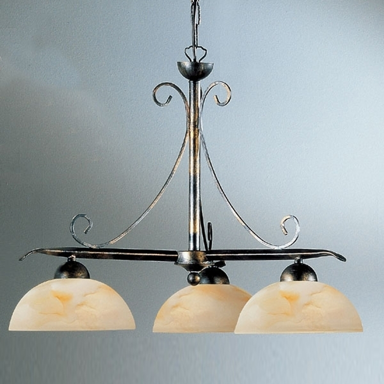 Dana hængelampe i landlig stil, 3 lyskilder