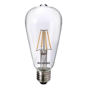 LED E27 ToLEDo RT ST64 4,5W 827 trasparente