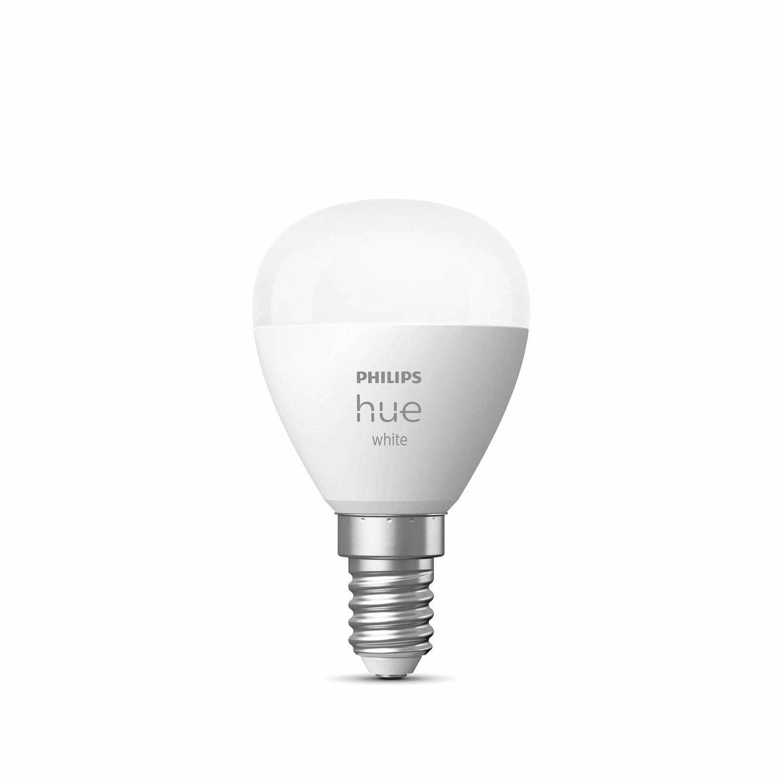 Philips Hue White żarówka kropla E14 5,7W 2700K