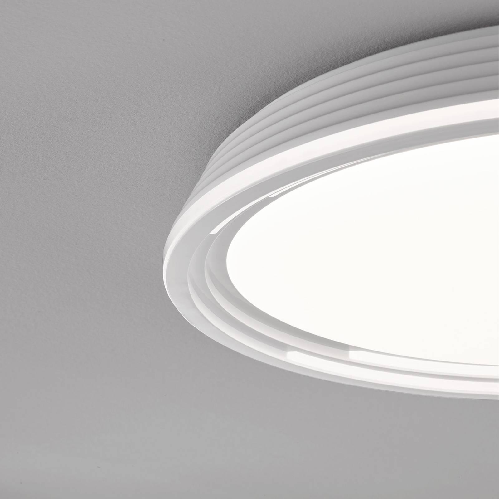 Lampa sufitowa LED Dua, ściemniana, Ø 43 cm