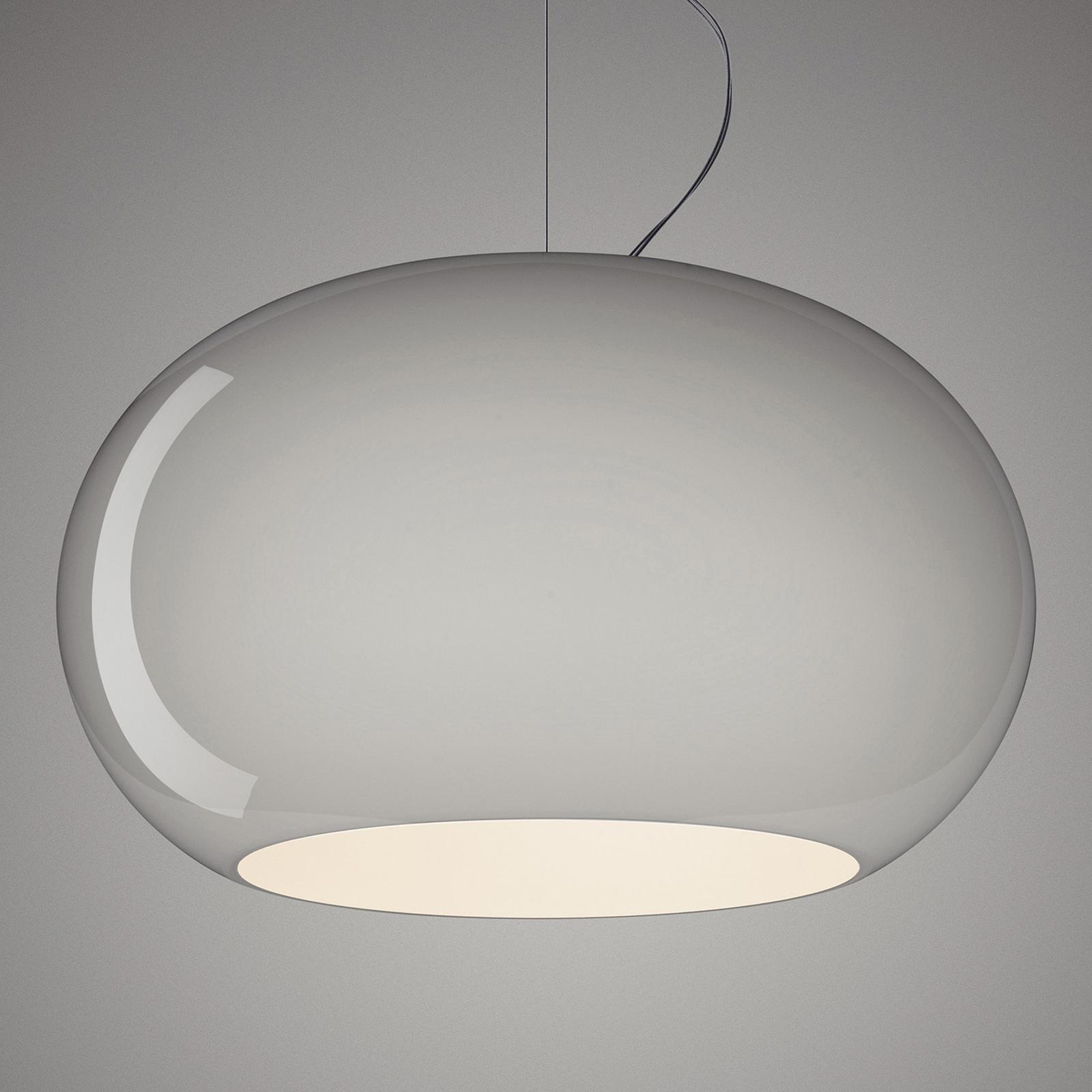 Foscarini Buds 2 LED-Pendelleuchte, E27 grau
