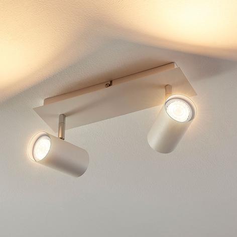 Iluk - 2-lamppu-LED-kohdevalaisin seinä ja katto