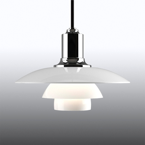 Louis Poulsen PH 2/1 lampada a sospensione, vetro
