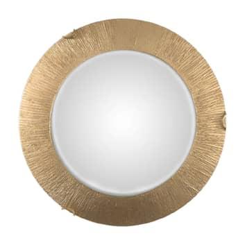 Moon Sun væglampe, guld, Ø 40 cm