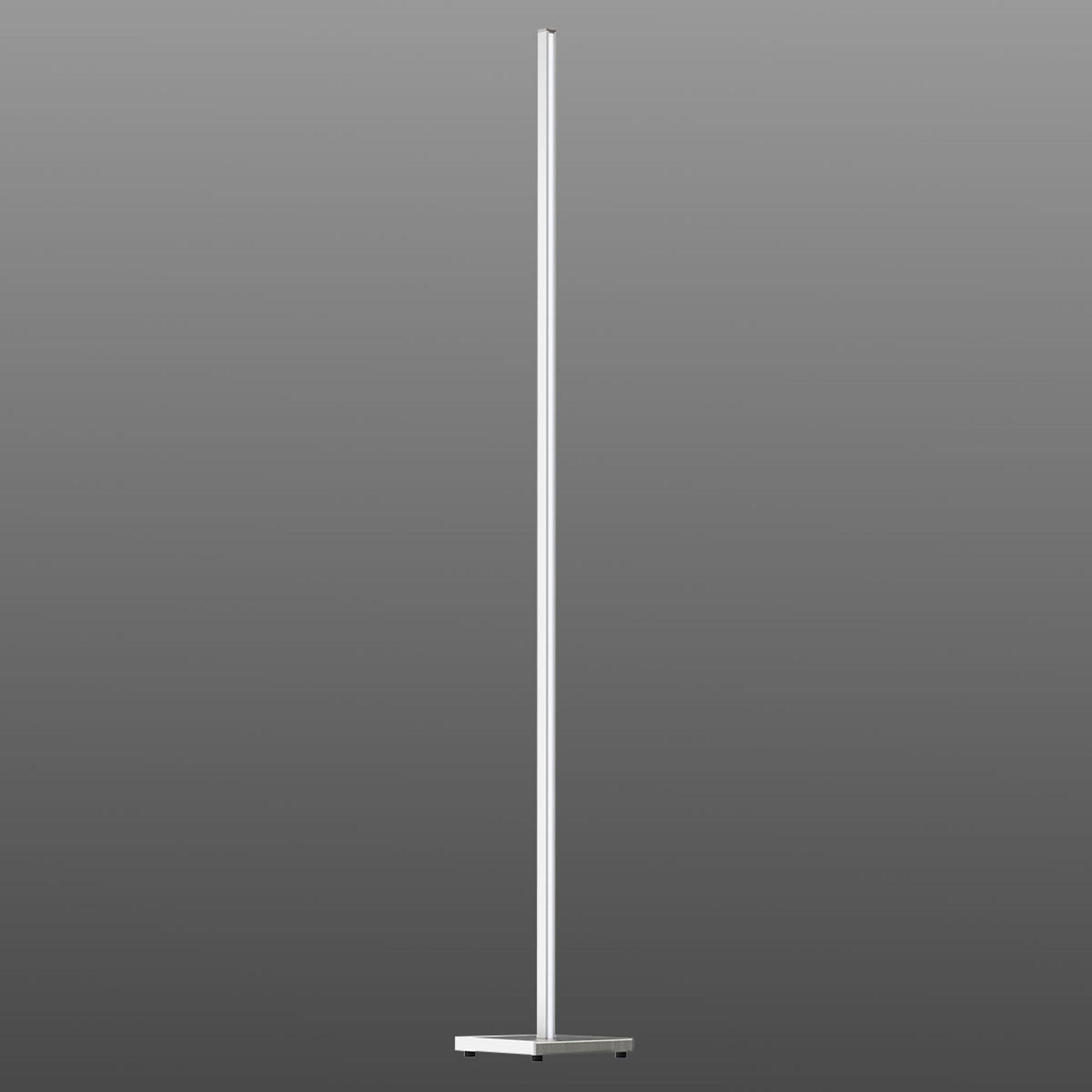 Funkcjonalna lampa stojąca LED Orix biała, 180 cm
