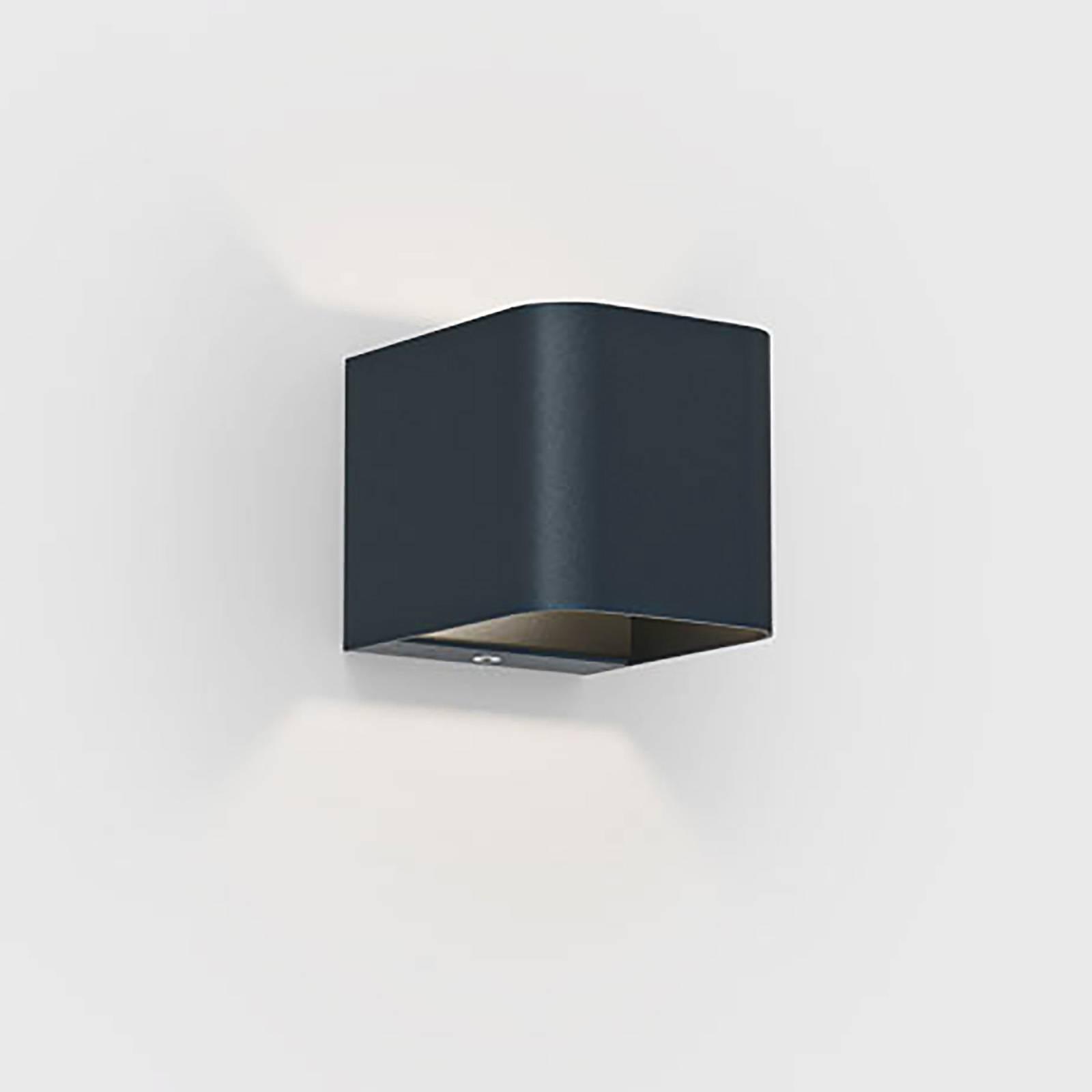 IP44.de Intro 2.0 LED-Außenwandleuchte, deep black