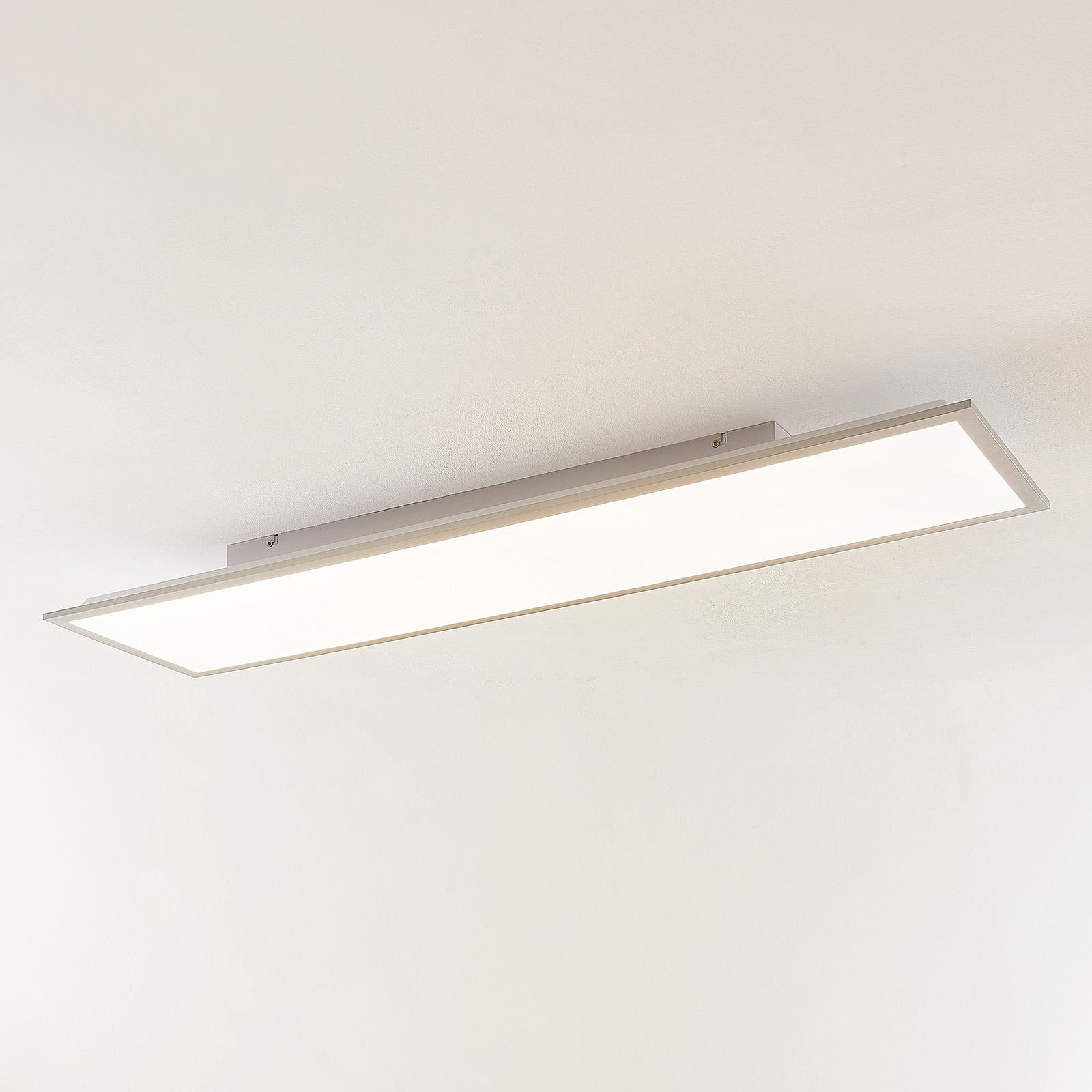 Lindby Stenley panneau LED 4000K 119cm x 29cm