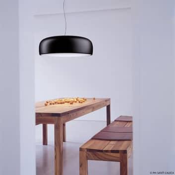 FLOS Smithfield S lámpara colgante LED, negro mate