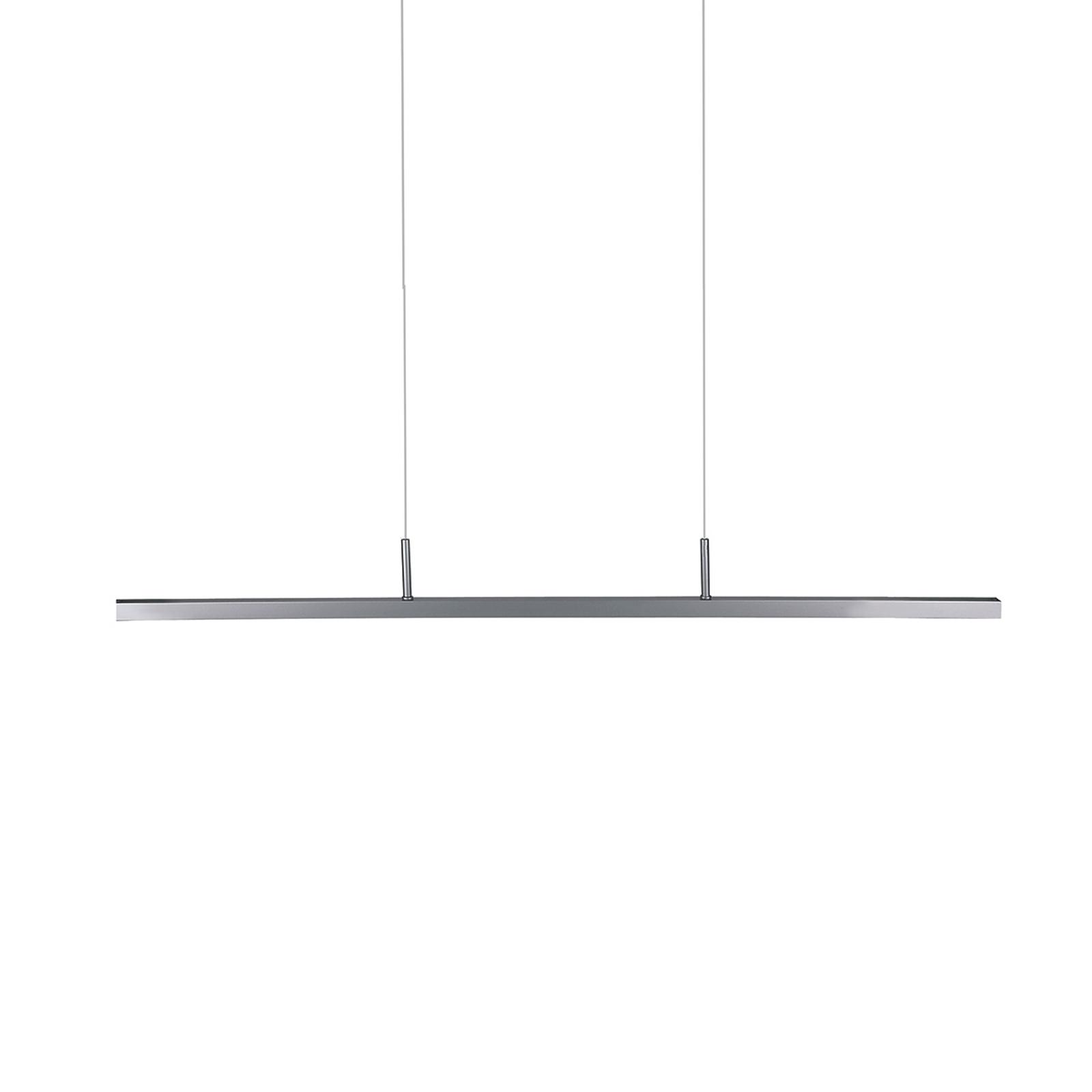 Estrecha lámpara colgante LED Sanna