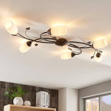 Romantisk LED-taklampa Stefania