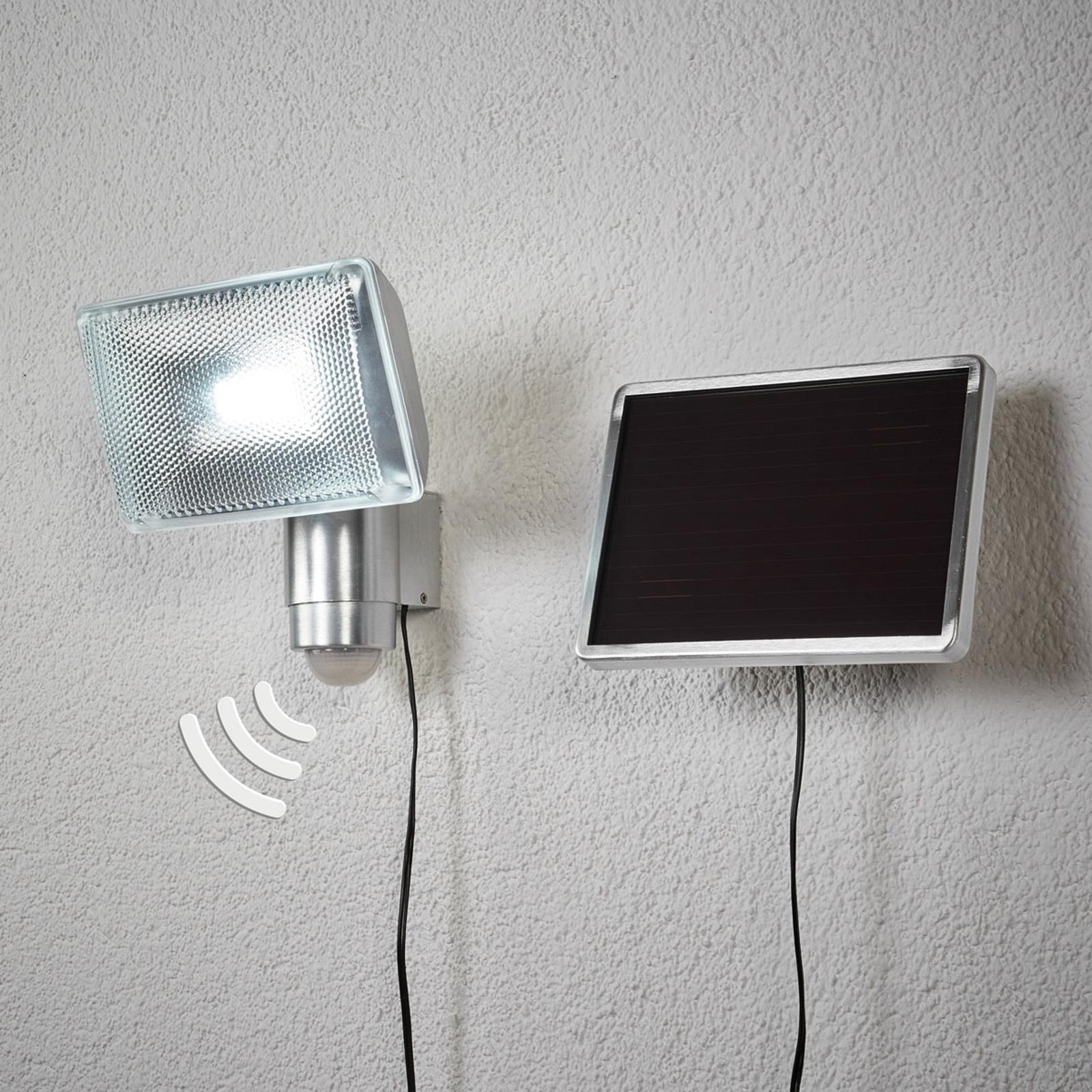 Proiettore LED solare da esterni SOL 80, sensore