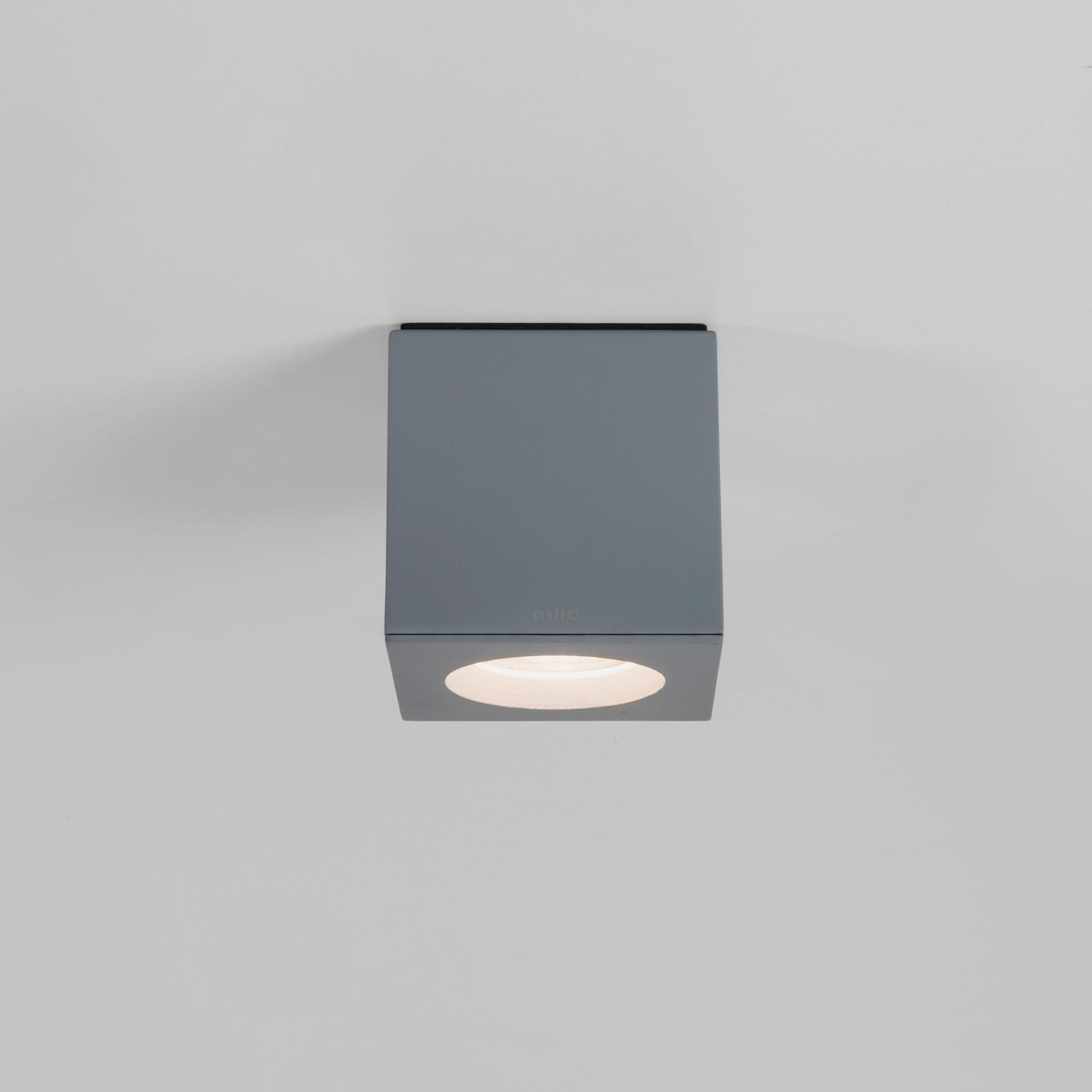 Astro Kos Square loftlampe, grå