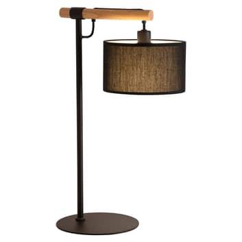 Bordlampe Romeo med tekstilskjerm