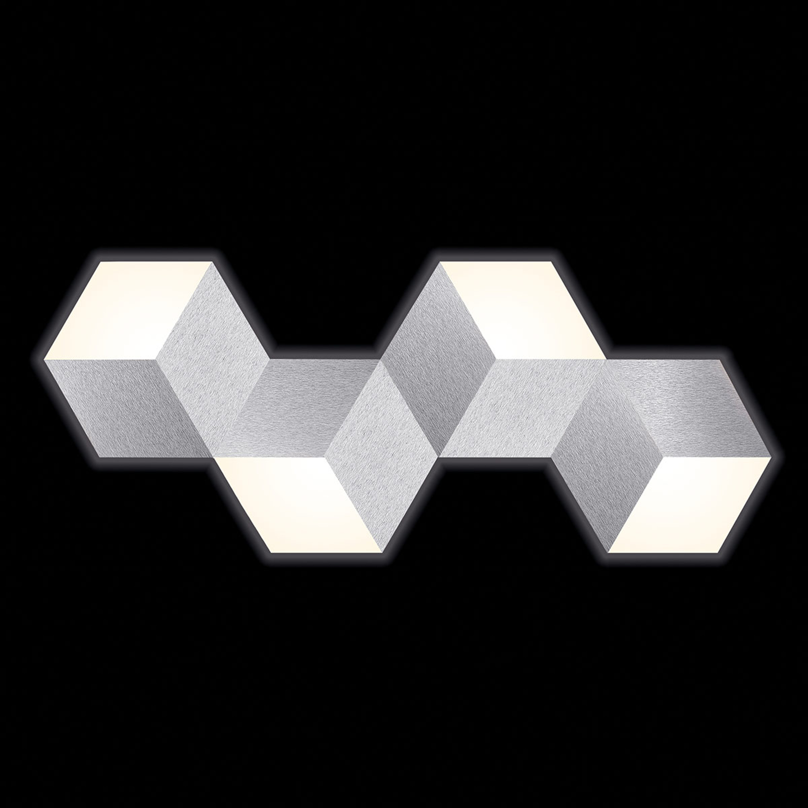 GROSSMANN Geo LED-vegglampe med abstrakt form