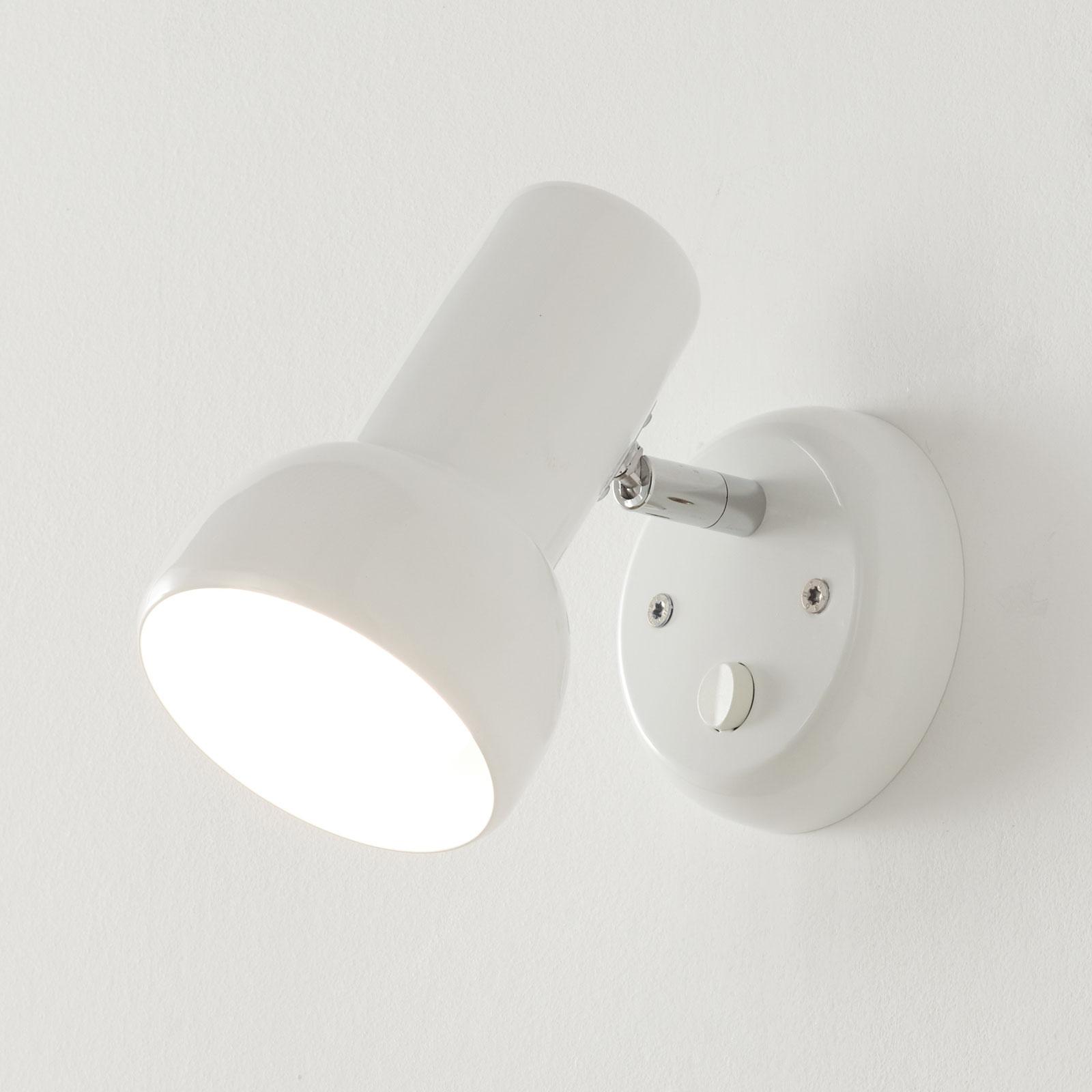 Nástěnné bodové svítidlo Eifel, s vypínačem