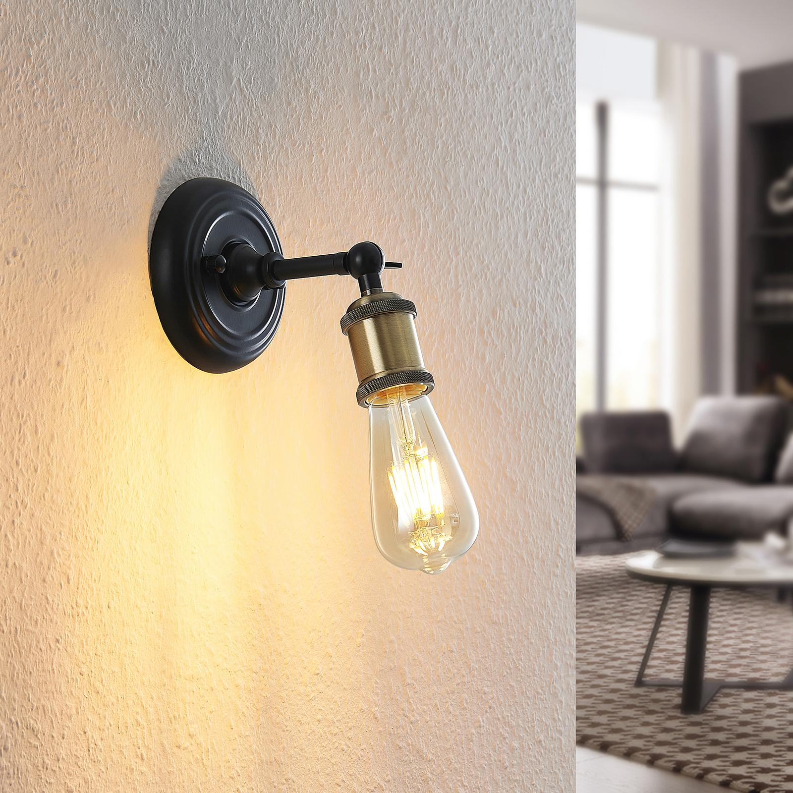 Lindby Aturia lampa ścienna, antyczne wzornictwo