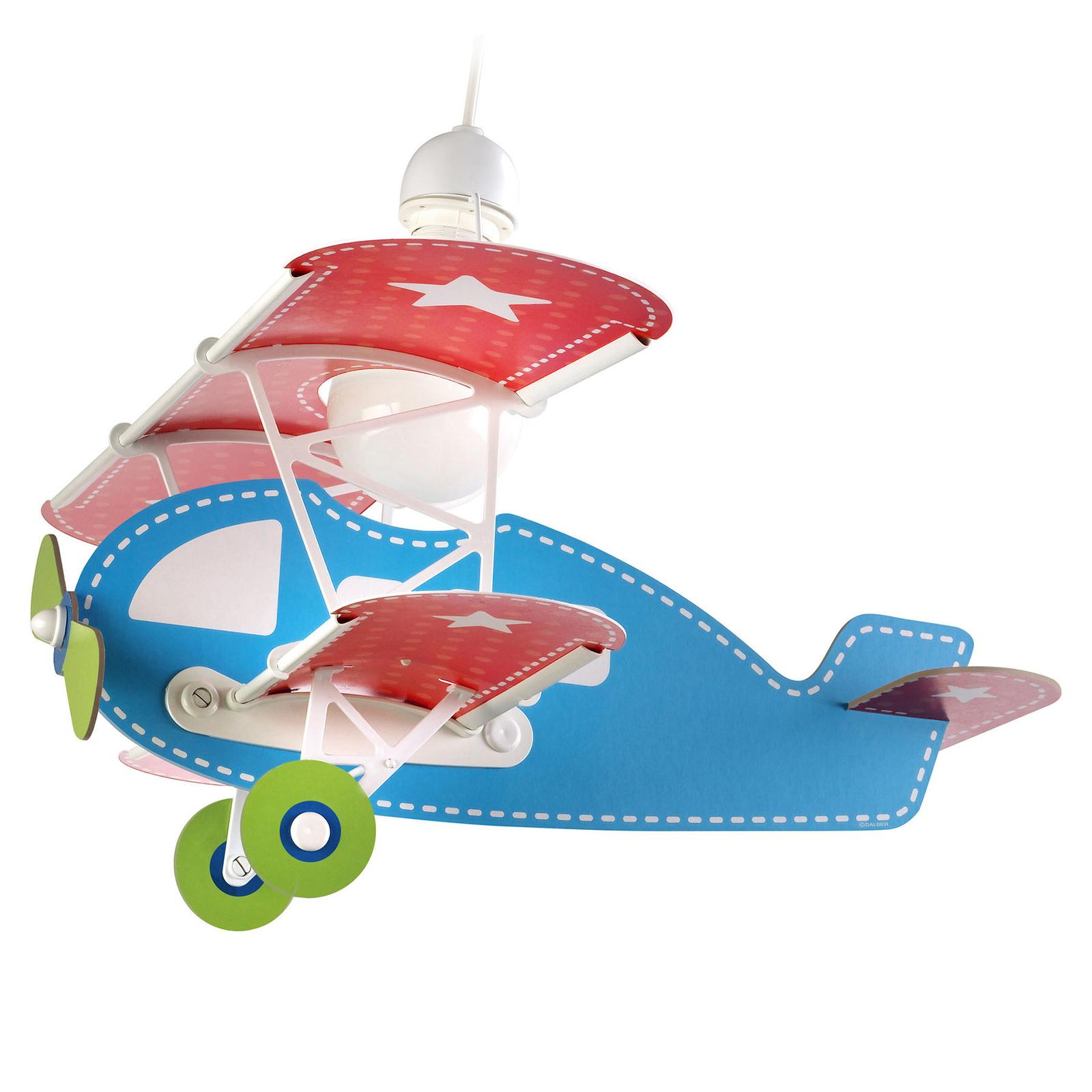 Lampada a sospensione Baby Plane, colorata