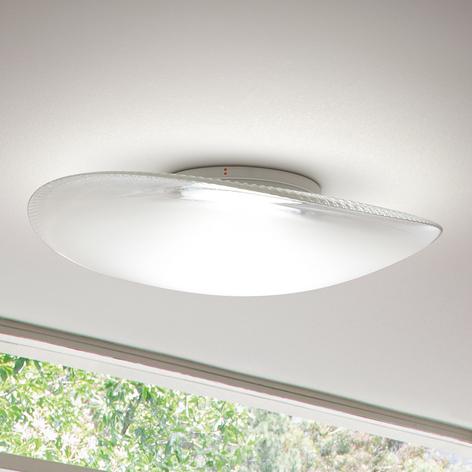 Fabbian Loop - skleněné stropní světlo LED 3000K