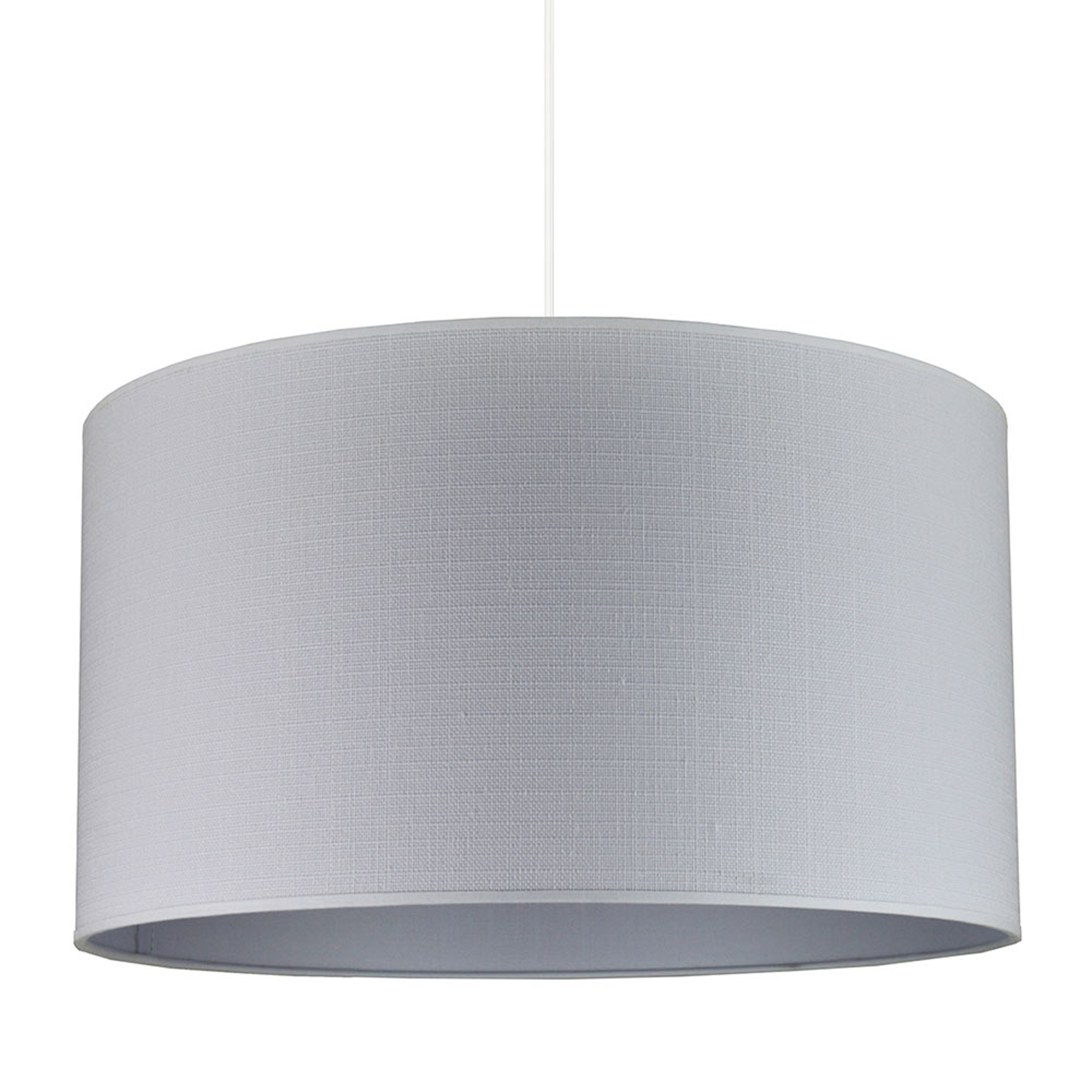 Hanglamp Canvas, lichtgrijs
