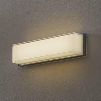 Helestra Cosi LED-Wandleuchte rechteckig chrom