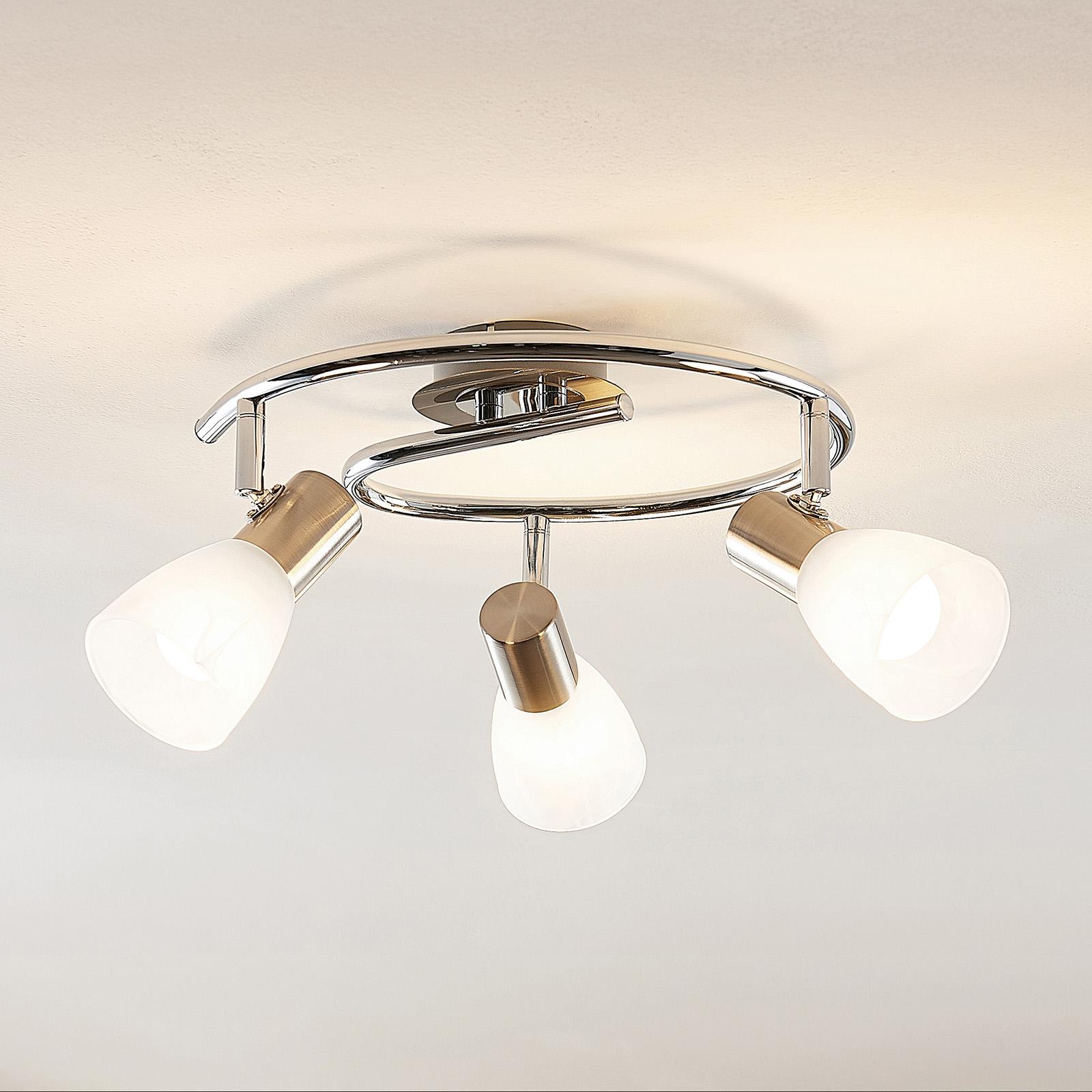 ELC Kamiran -LED-kattokohdevalo, 2-lamppuinen