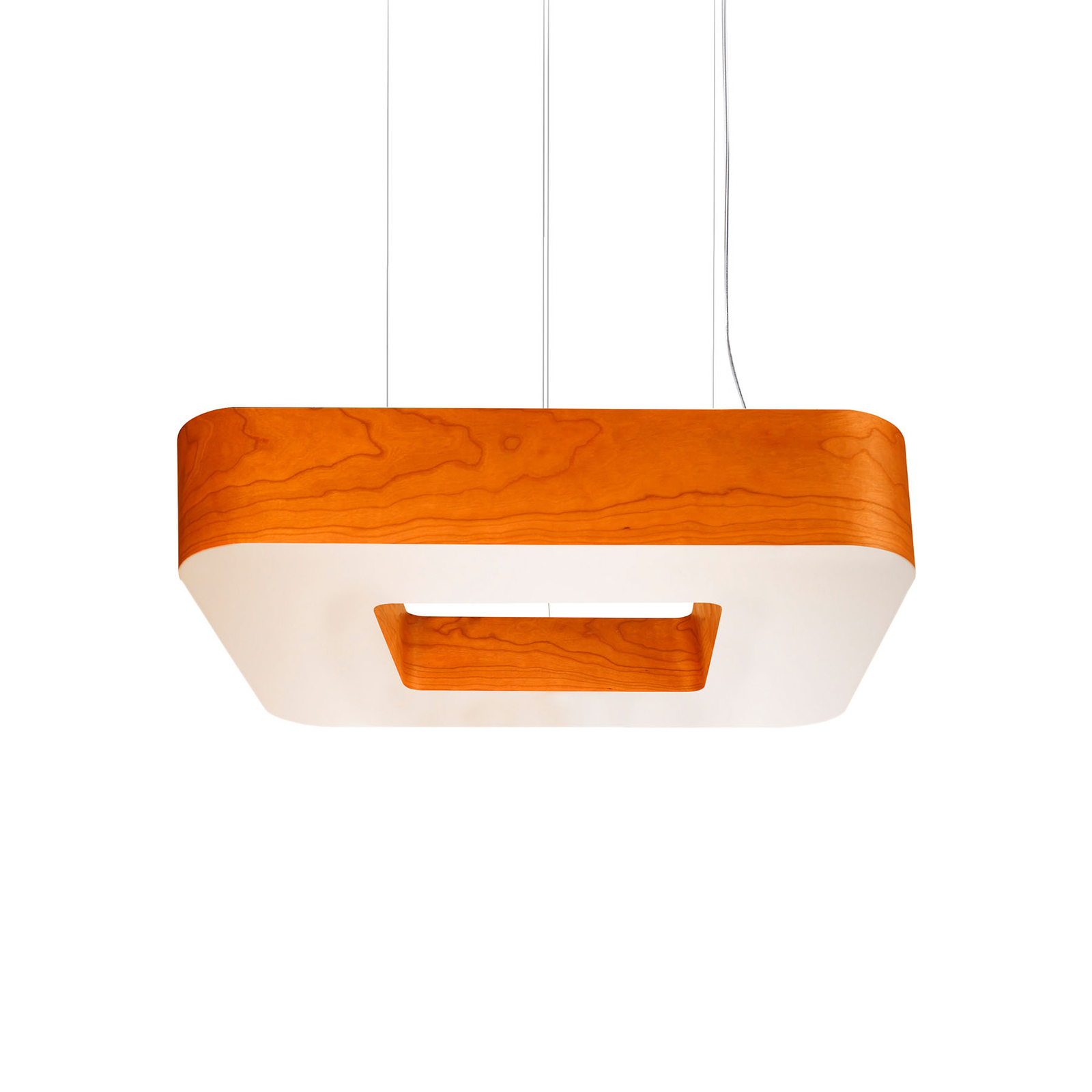 LZF Cuad LED-Hängeleuchte 0-10V dim, orange