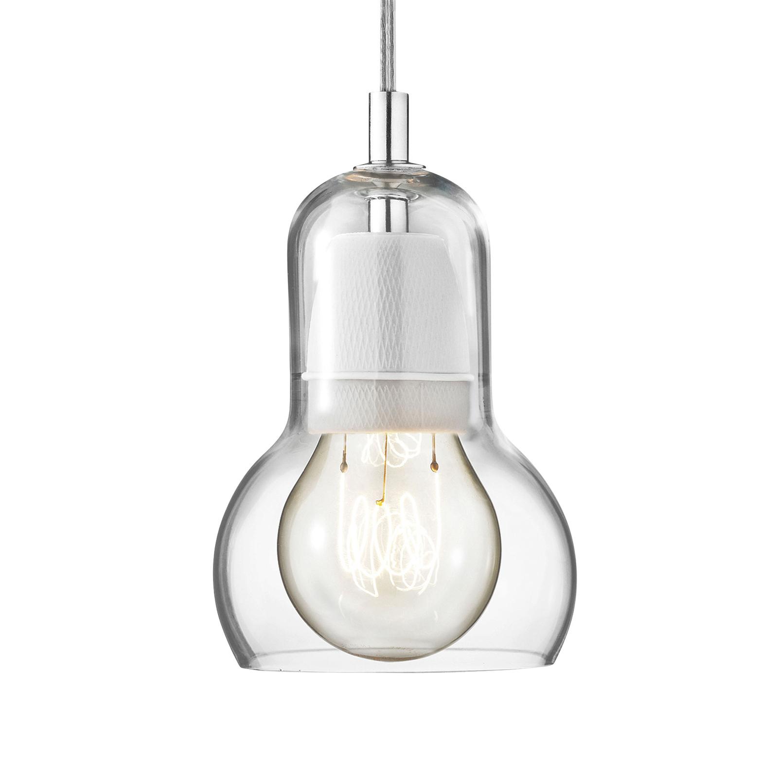&Tradition Bulb SR1 Pendel, klar/klares Kabel