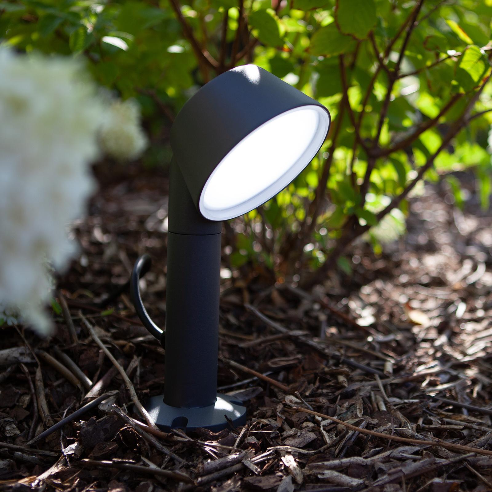 LED-Erdspießleuchte Dakota mit Tuya-Technologie