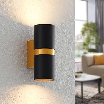 Arcchio Arsa nástěnné světlo, dvoužárovkové, černá