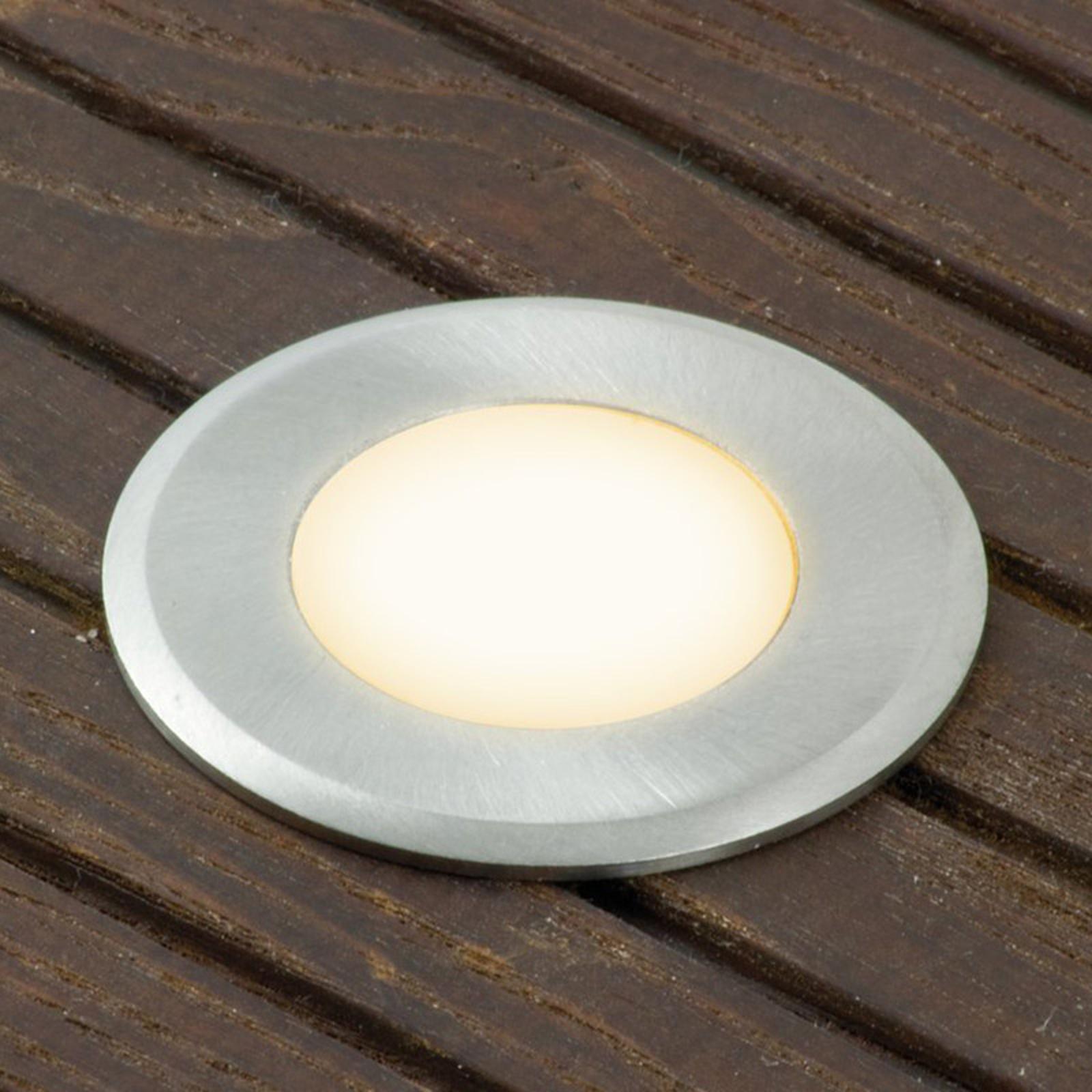 Extra LED spot Nürnberg 4 rond, 0,3 m snoer