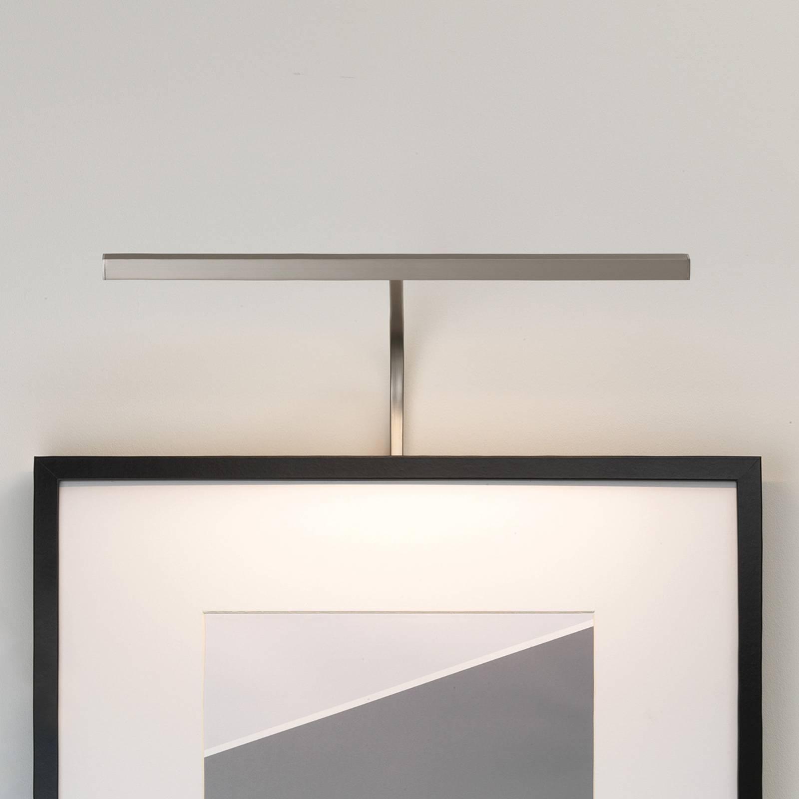 Astro Mondrian Frame Mounted applique nickel 40cm