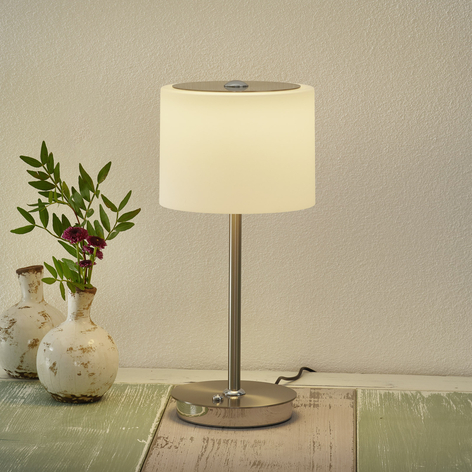 BANKAMP Grazia lámpara mesa LED, compatible ZigBee