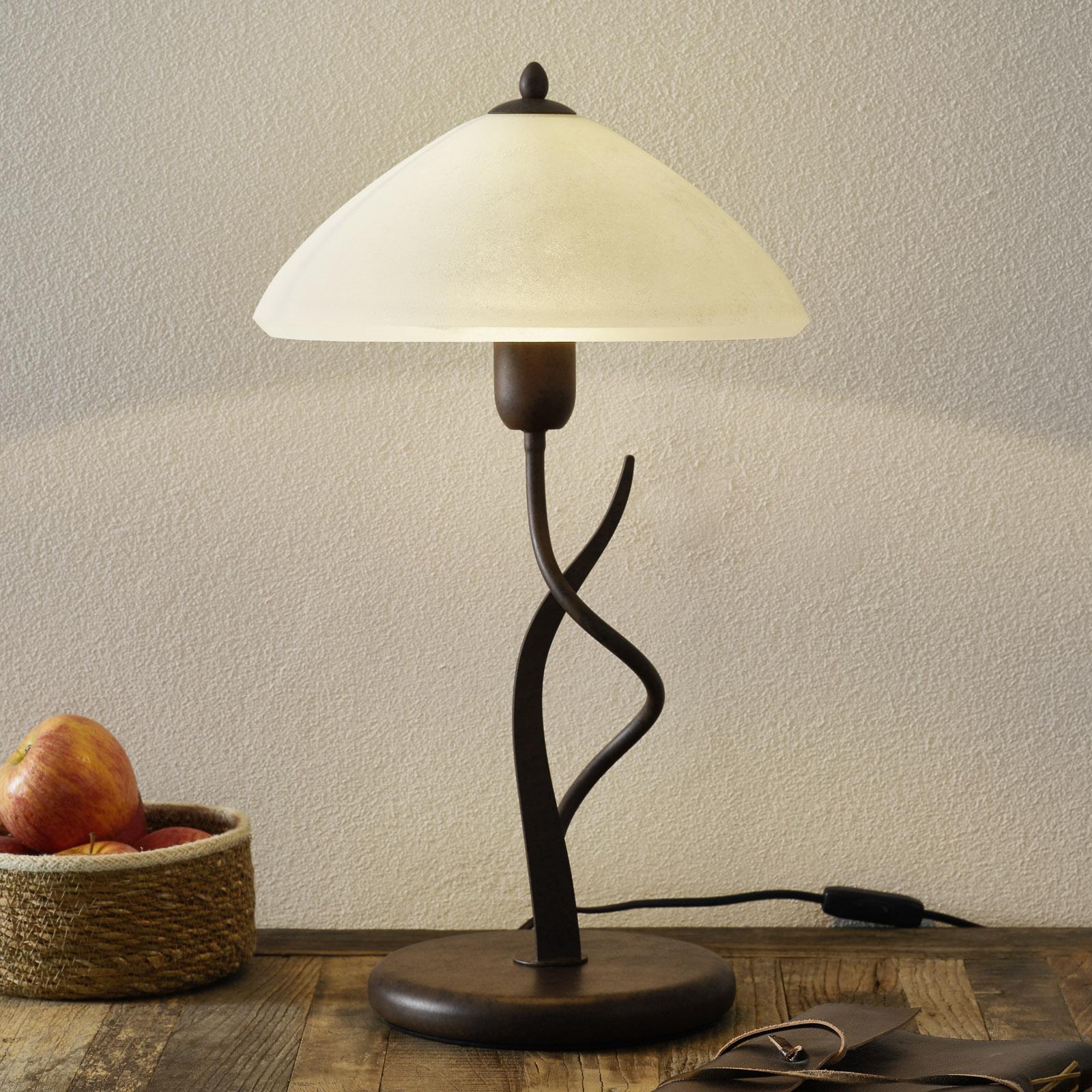 Samuele landlig bordlampe, scavo