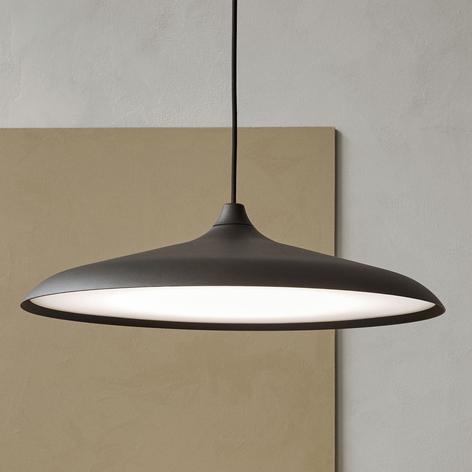 Menu Circular Lamp sospensione LED, nero