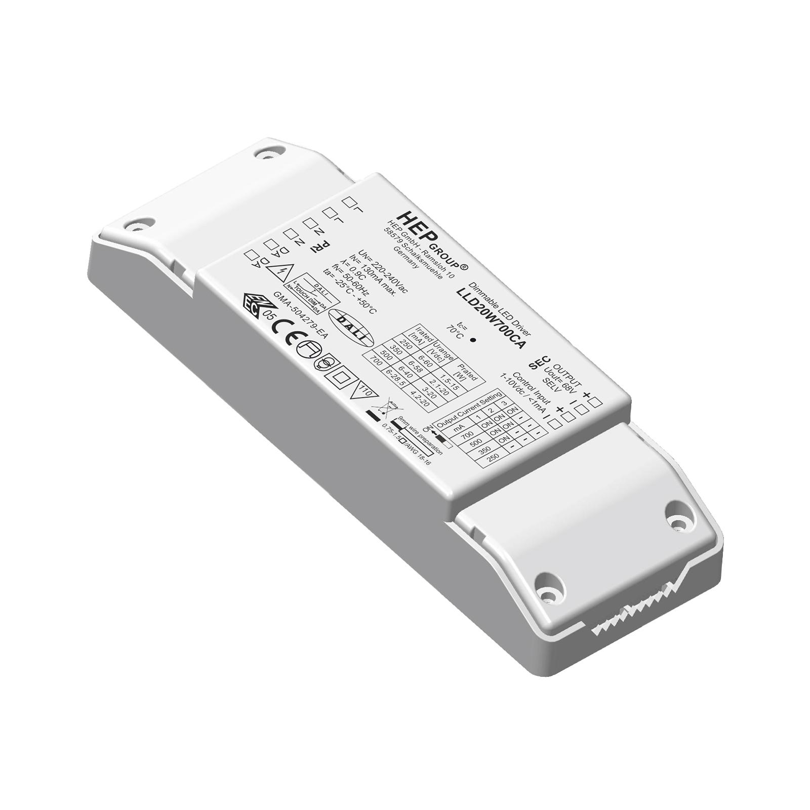 LED-Treiber LLD, 20 W, 700 mA, dimmbar, CC
