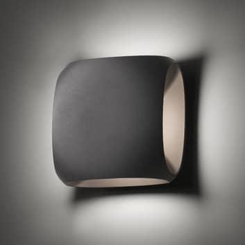 Bu-oh! - ciemnoszary kinkiet zewnętrzny LED
