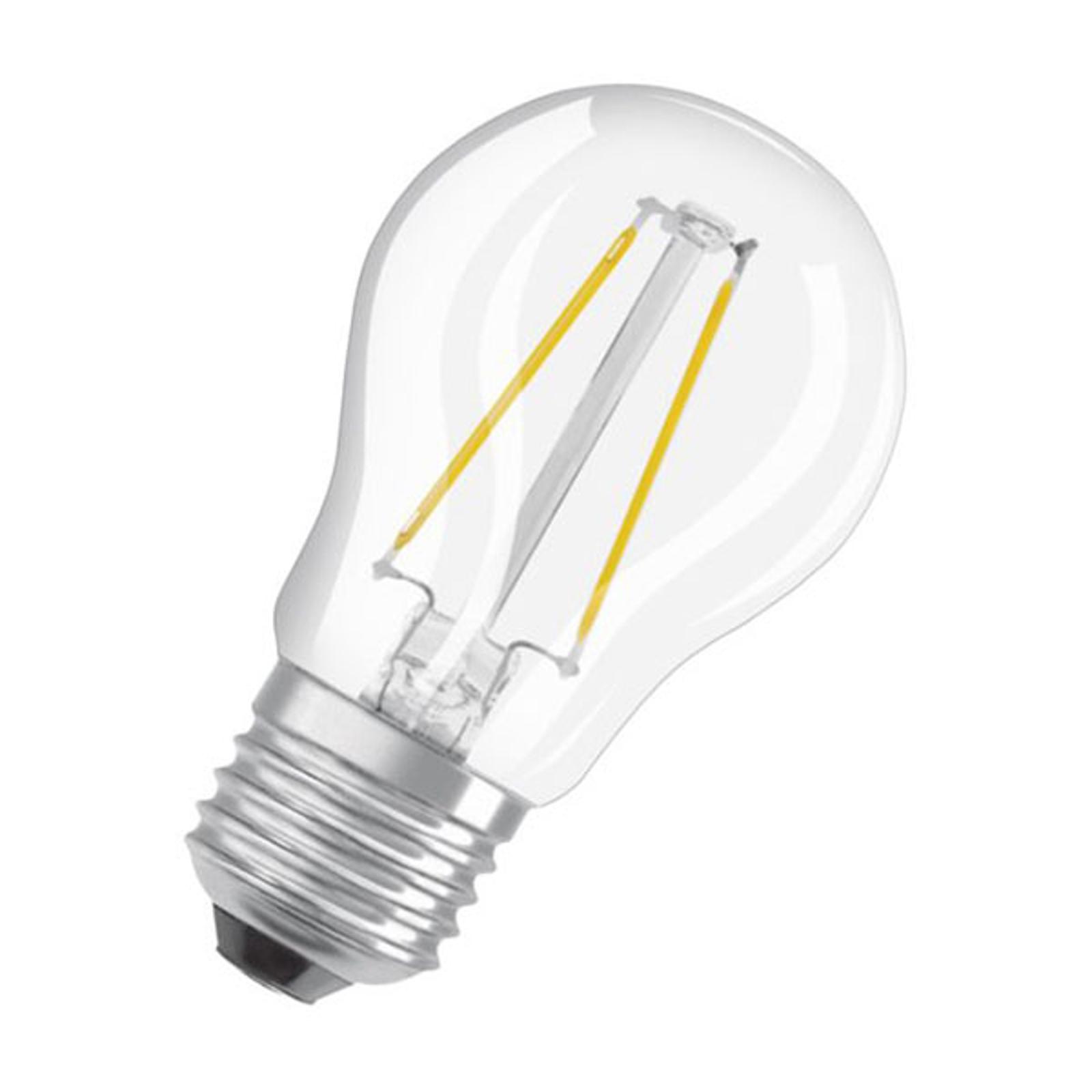 OSRAM Classic P LED-Lampe E27 2,5W 4.000K klar