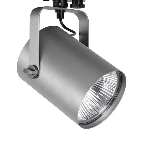 Spot LED Torpedo sur rail triphasé, 35°, 59 W