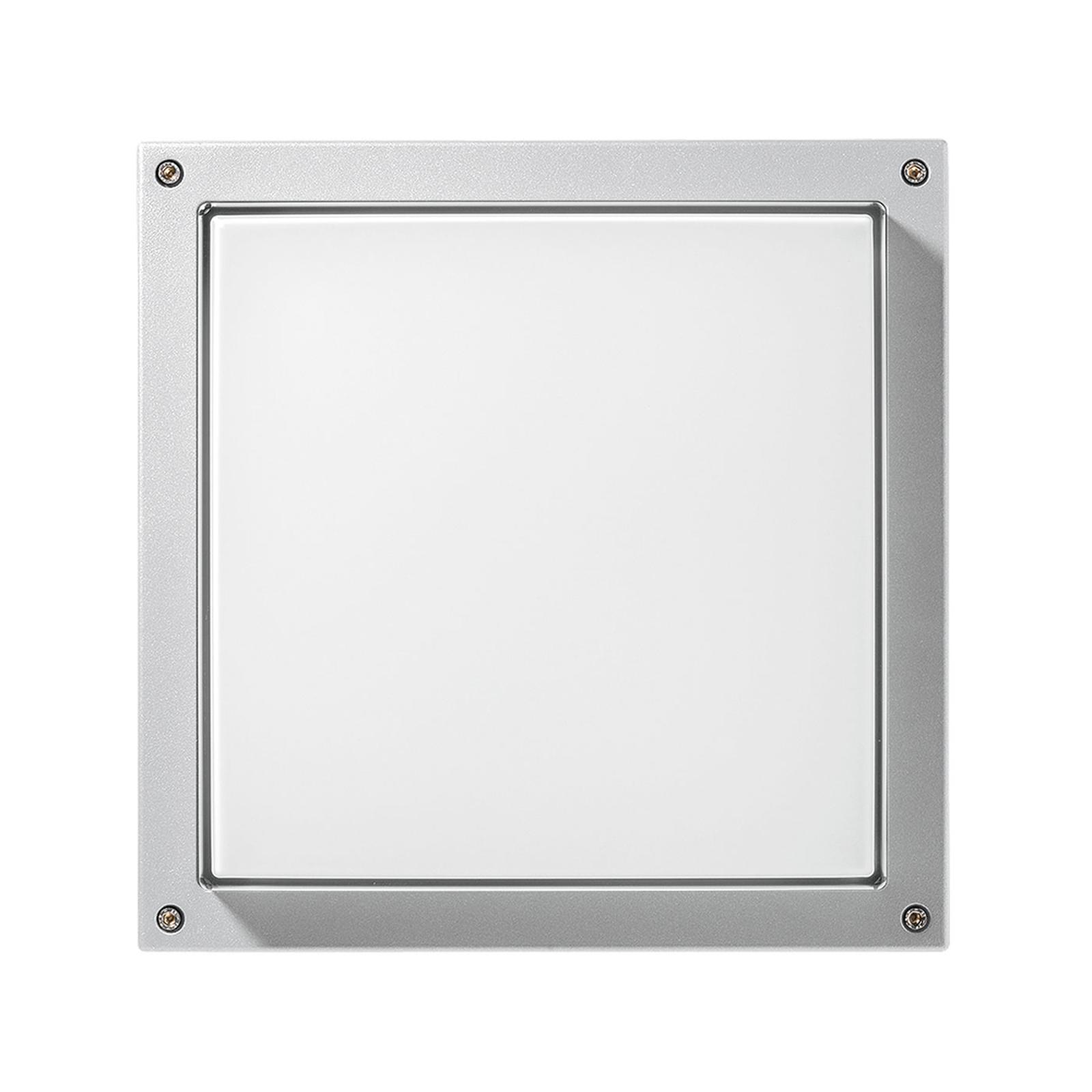 LED-Wandleuchte Bliz Square 40, 3.000K, weiß