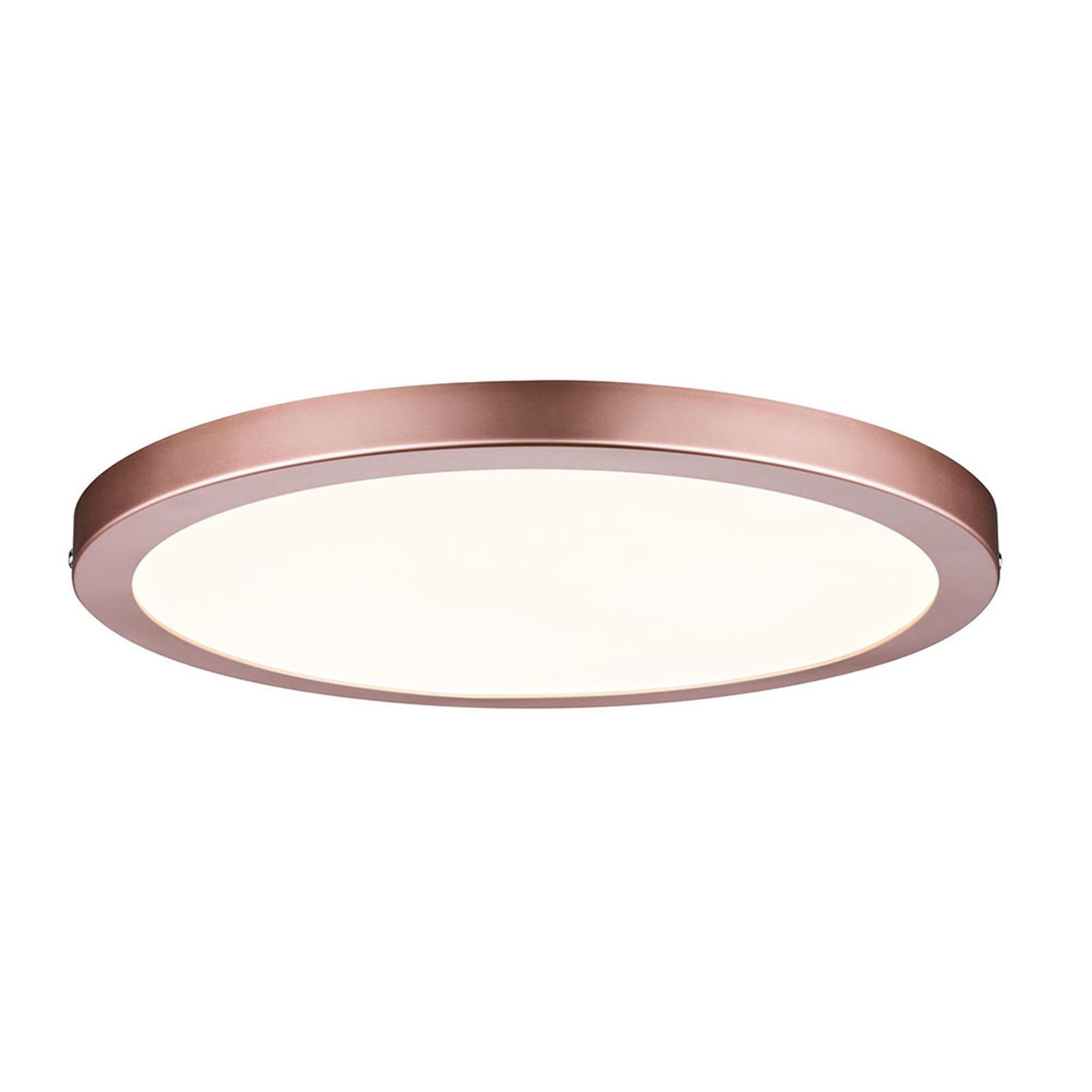 Paulmann Atria LED-Panel, roségold, rund, Ø 30 cm