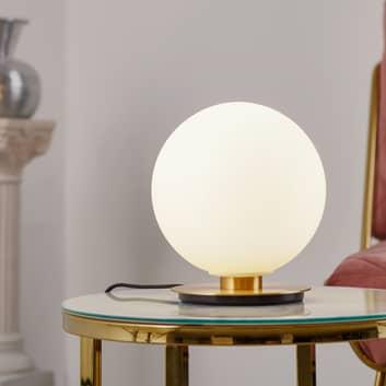 Menu TR Bulb pöytälamppu 22 cm messinki/opaali