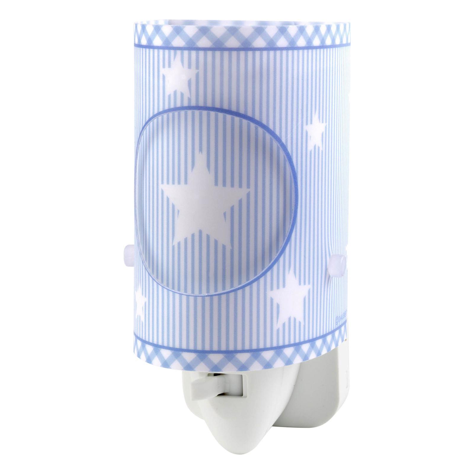 Sweet Dreams - blaues LED-Nachtlicht mit Schalter