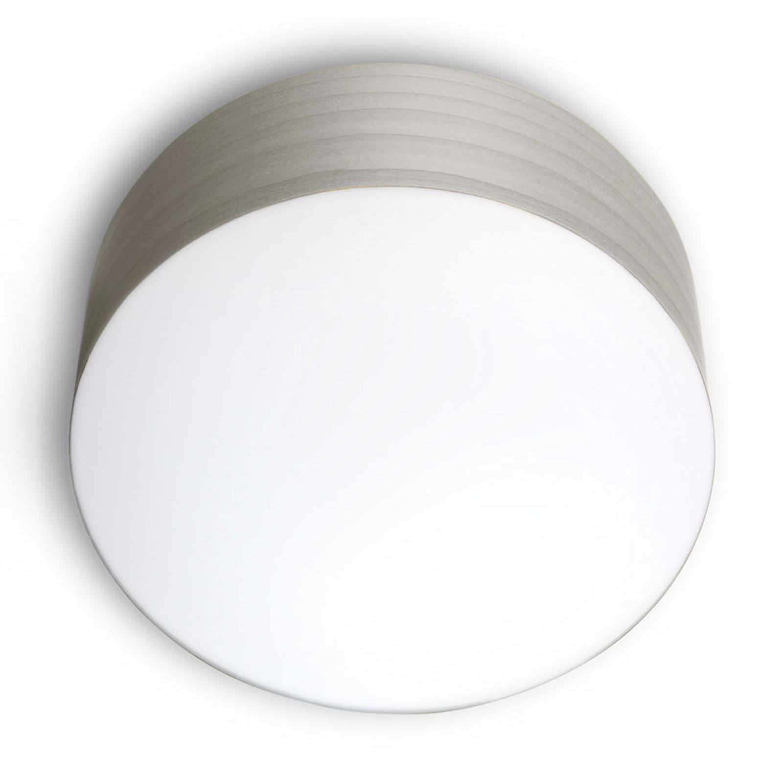 LZF Gea taklampe 0-10V dim, Ø 30cm, grå