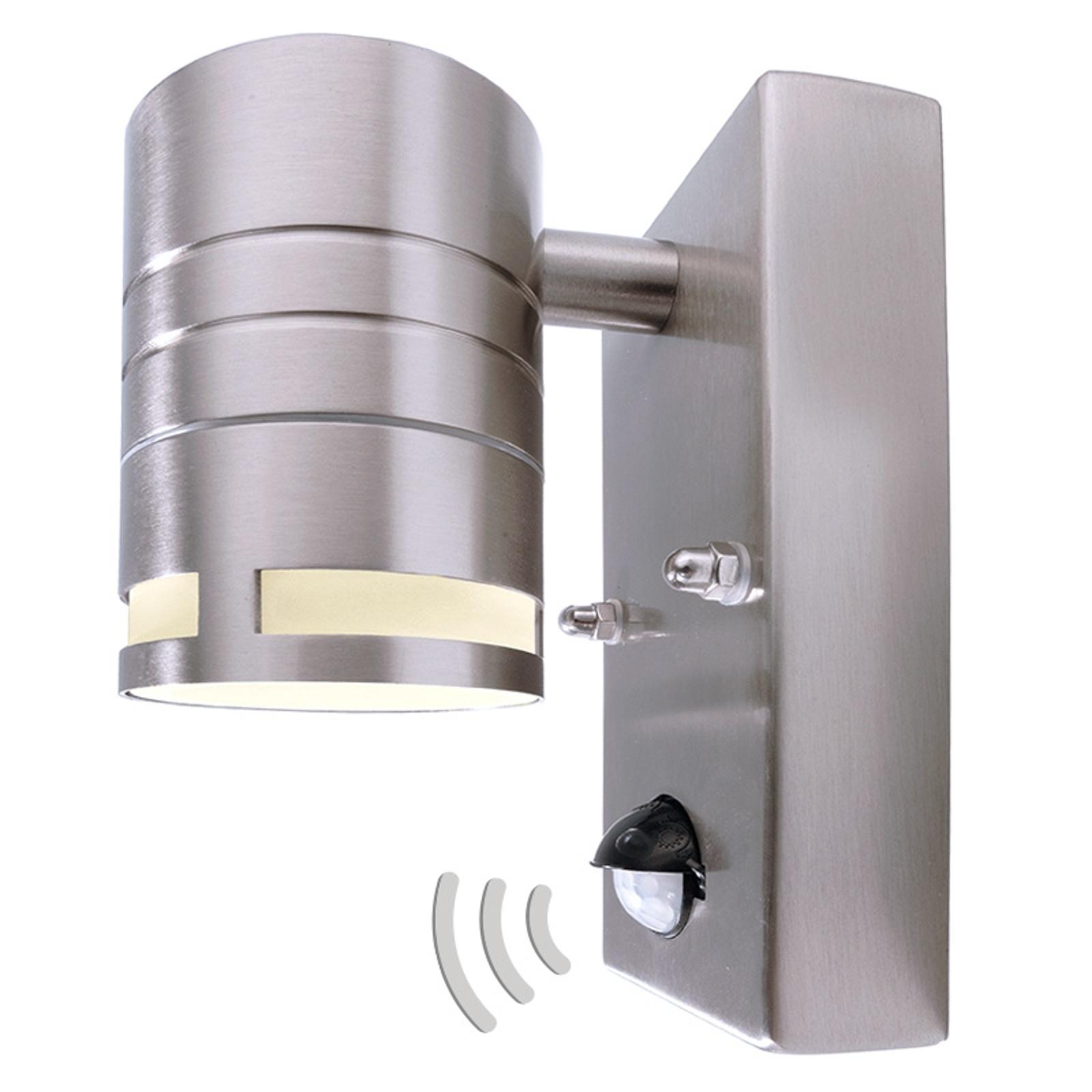 Liten vägglykta Zilly II med rörelsedetektor