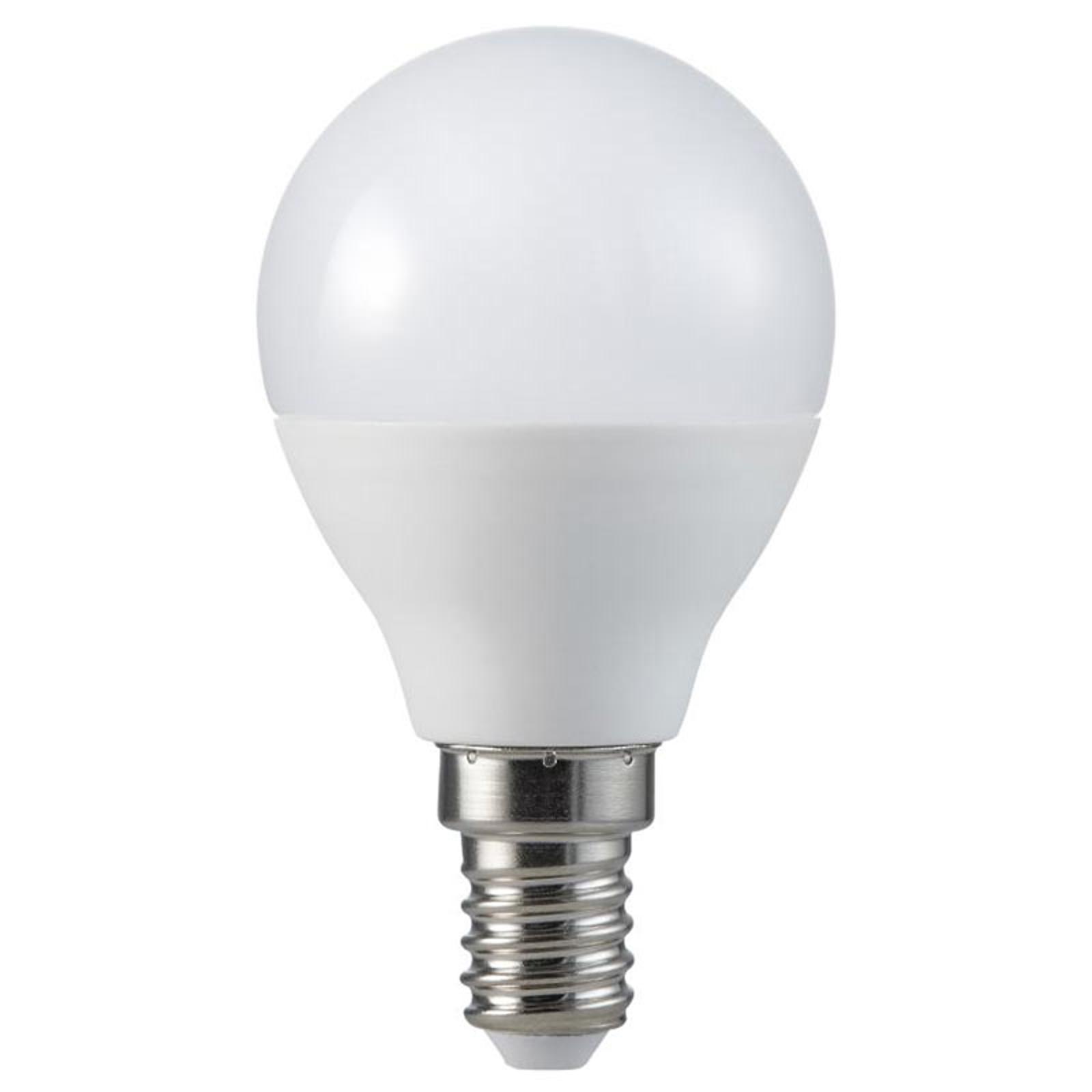 LED-dropplampa E14 5,5 W 2 700 K 420 lumen Ra95