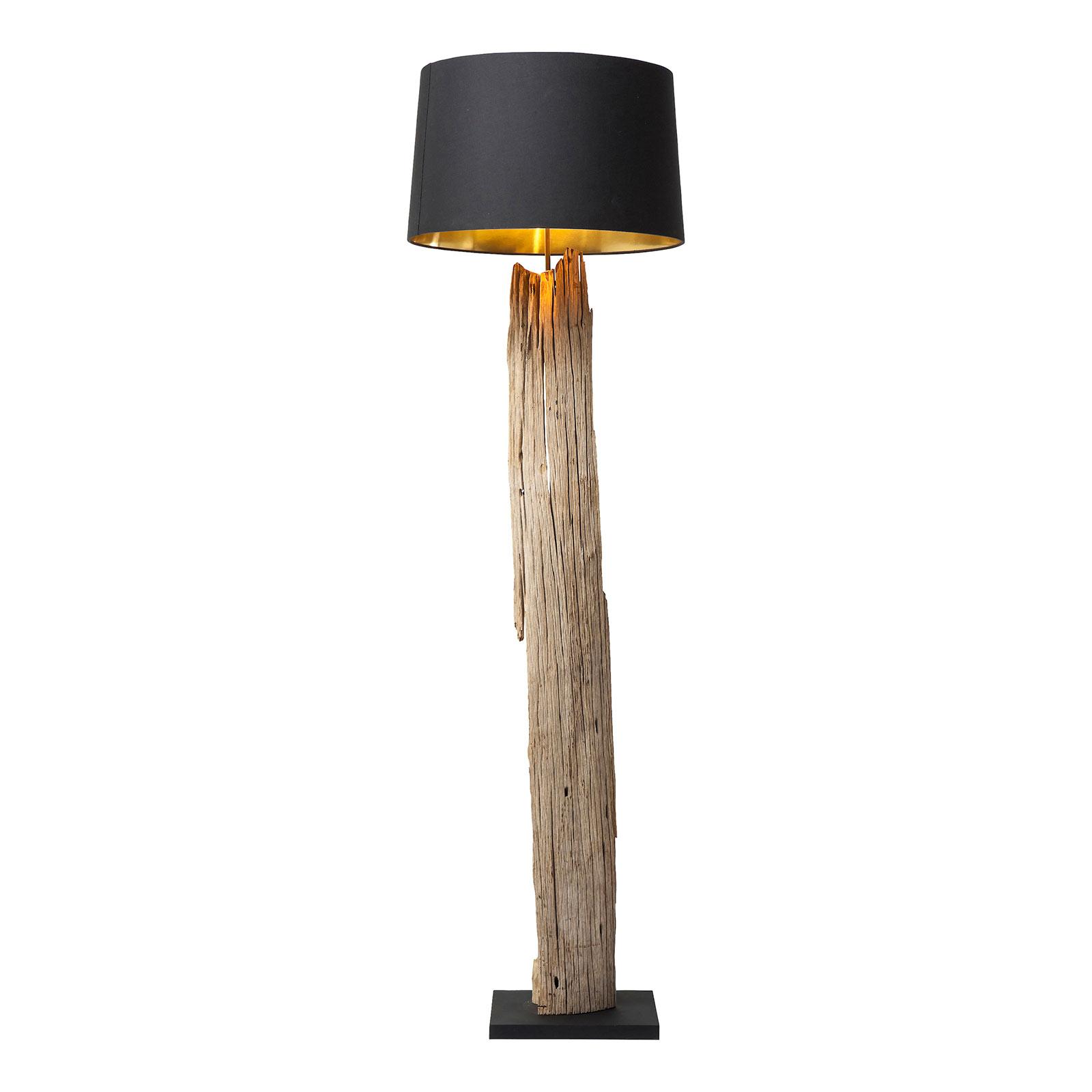 KARE Nature Straight vloerlamp unicum van hout