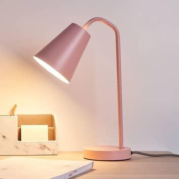 Pauleen True Shine bordlampe i smuk rosé
