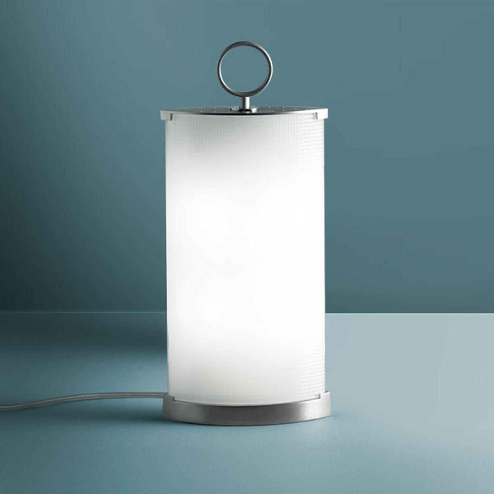 Nowoczesna lampa stołowa Pirellina, 39 cm