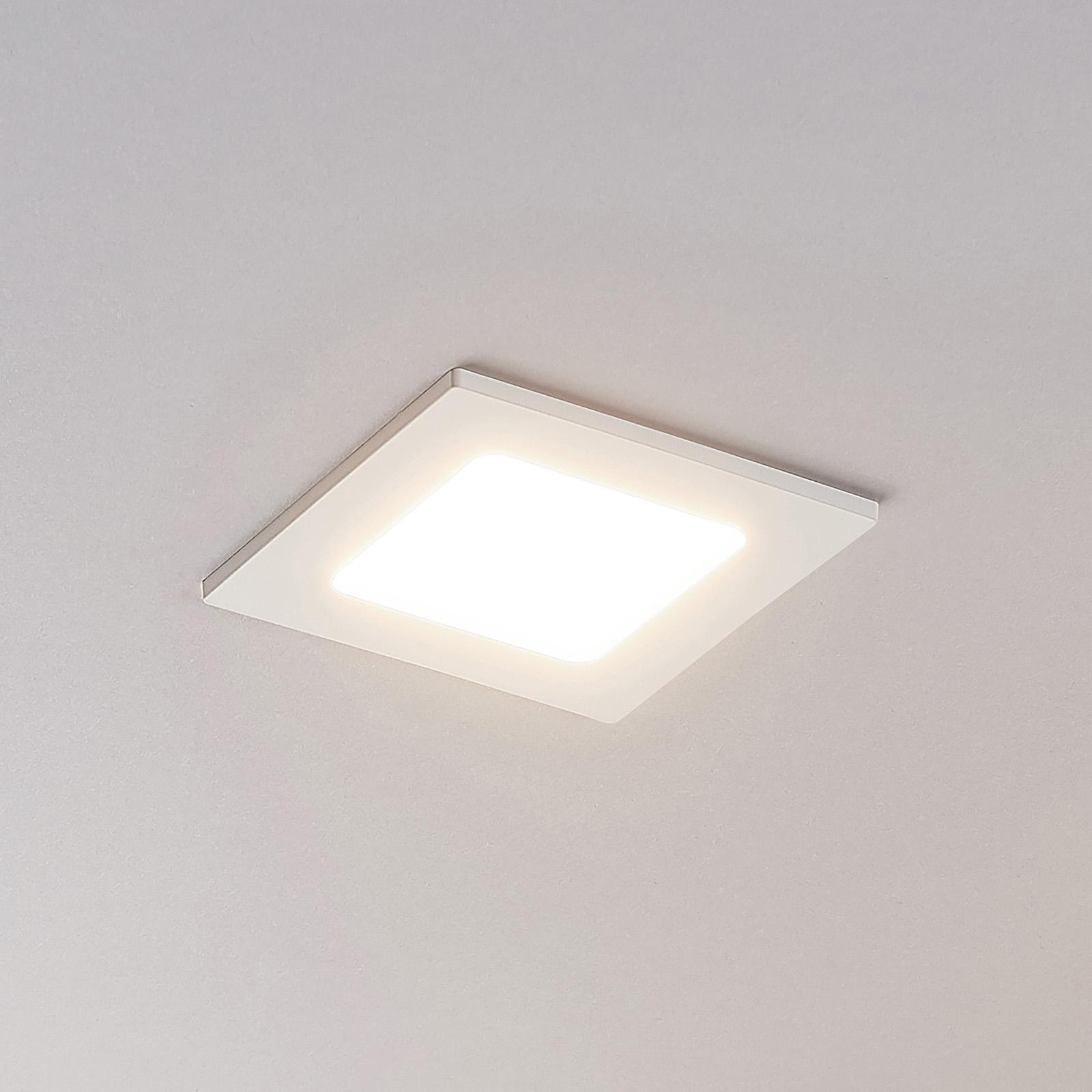 LED podhledové svítidlo Joki 3000K hranaté 11,5cm