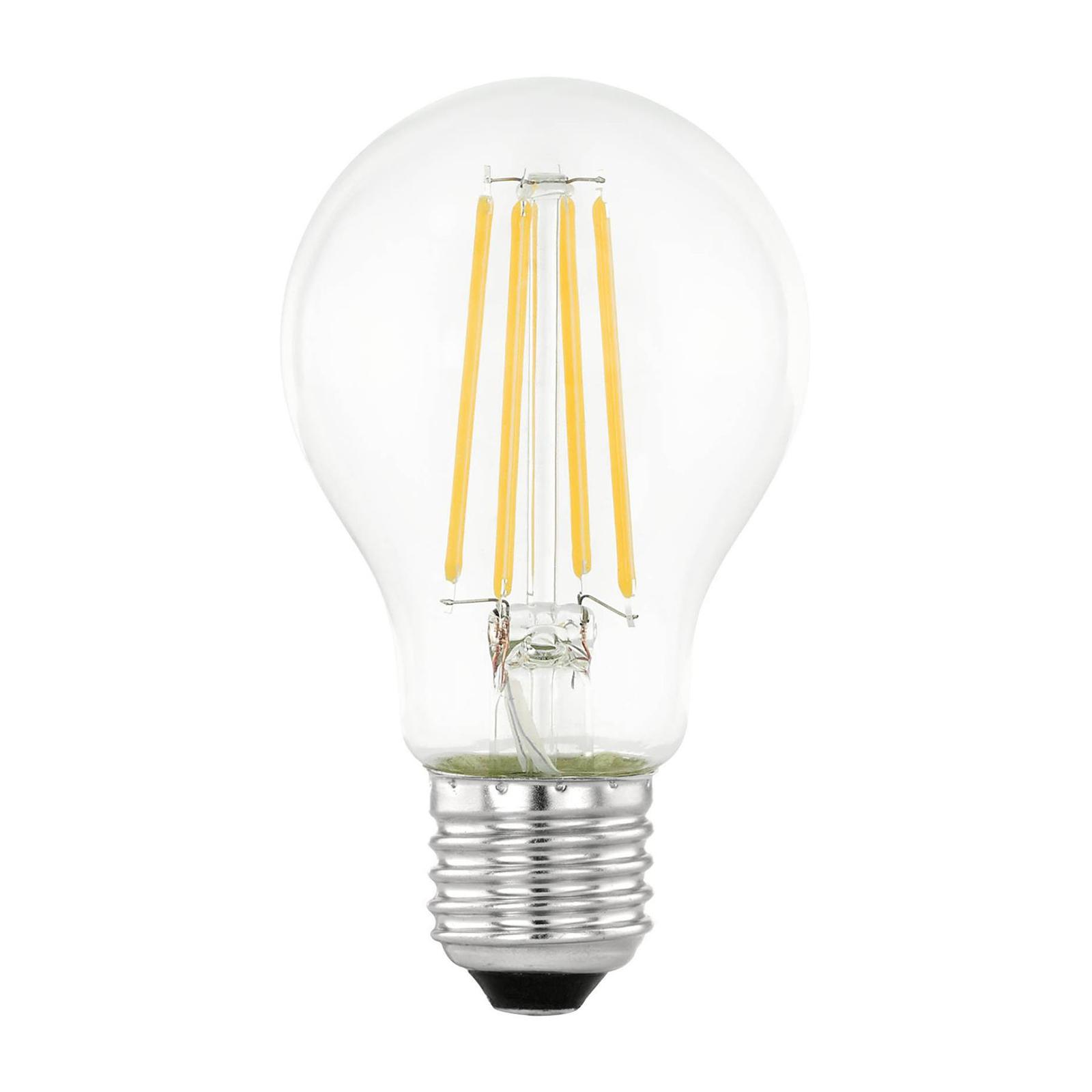 LED-Lampe E27 6W filament med dag/natt-sensor